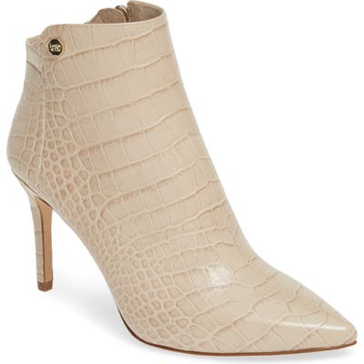 Louise Et Cie Sid Pointy Toe Bootie- White (Nordstrom Exclusive)