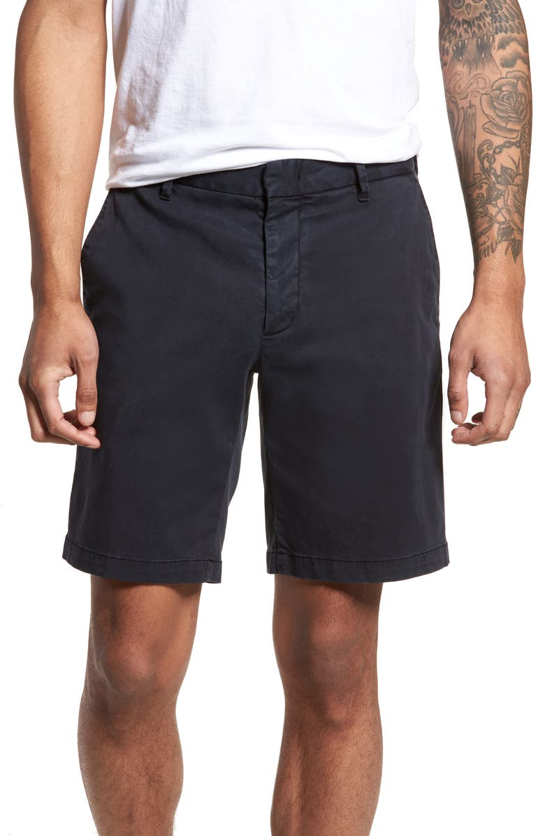 ZACHARY PRELL Catalpa Chino Shorts, Main, color, NAVY