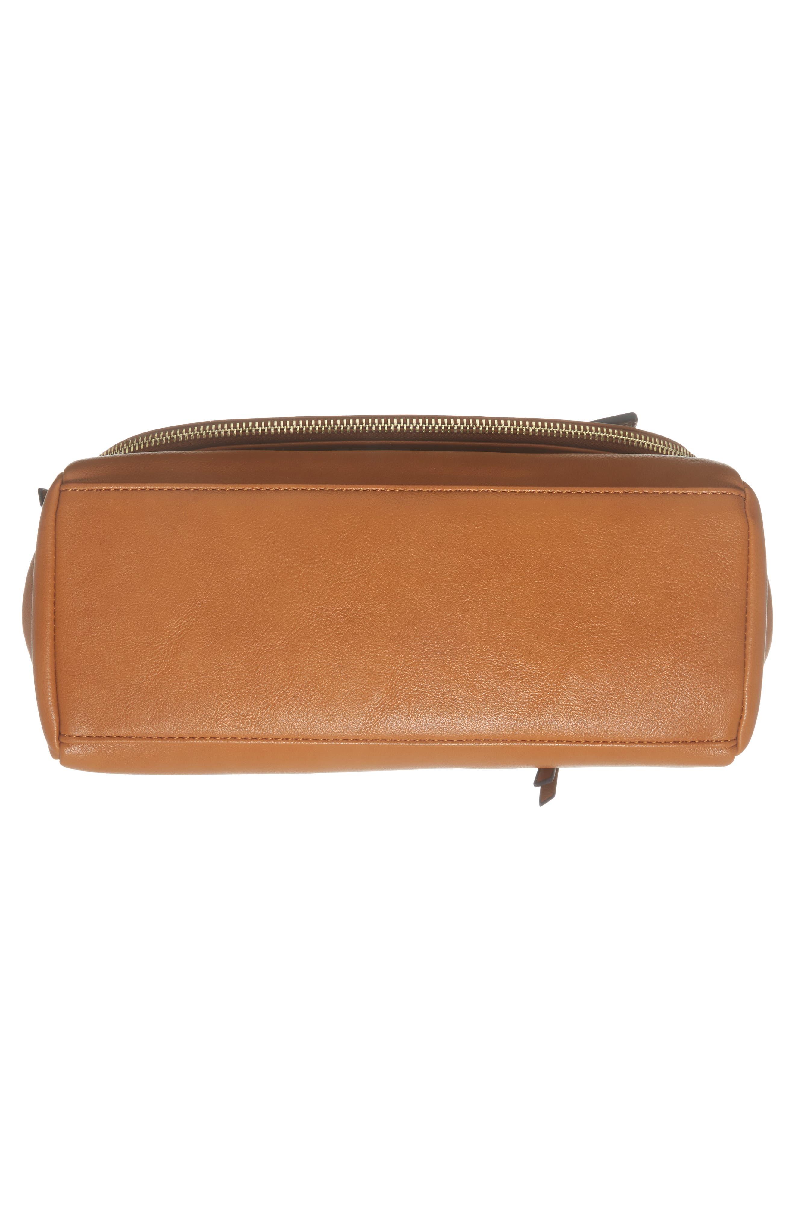 ,                             Top Handle Faux Leather Crossbody Bag,                             Alternate thumbnail 12, color,                             230