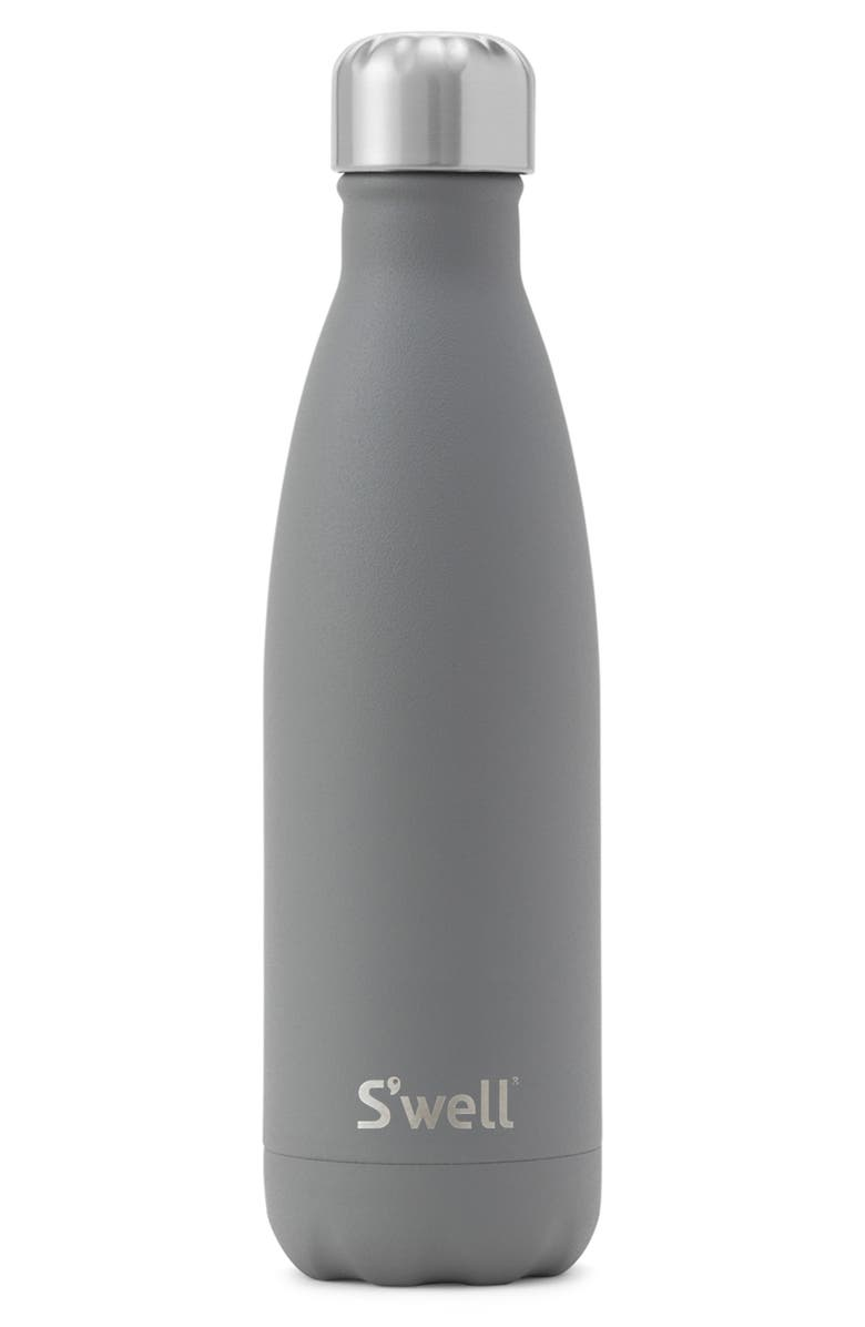 S'WELL Smokey Quartz 17-Ounce Insulated Stainless Steel Water Bottle, Main, color, SMOKEY QUARTZ
