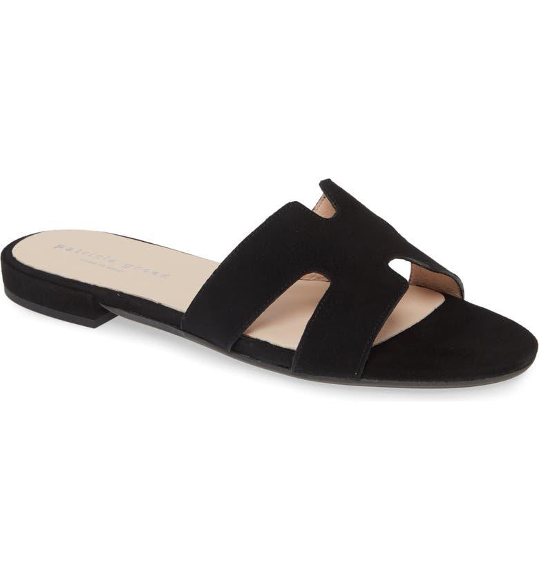 PATRICIA GREEN Hallie Slide Sandal, Main, color, 001