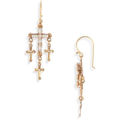 Virgins Saints & Angels Madonna Multi Cross Earrings