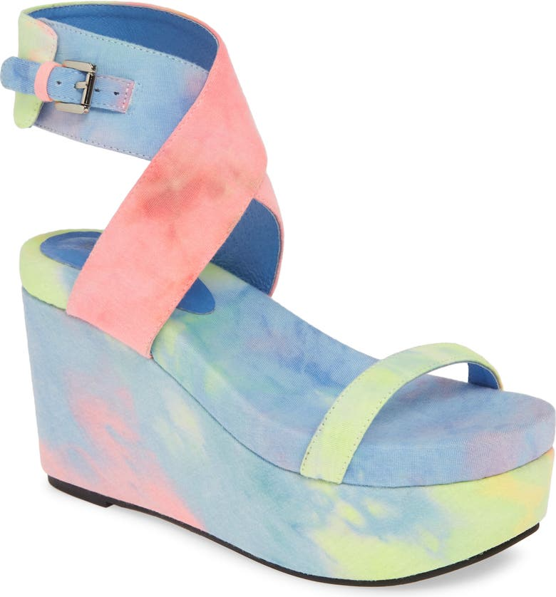JEFFREY CAMPBELL Kalli Platform Wedge Sandal, Main, color, 440