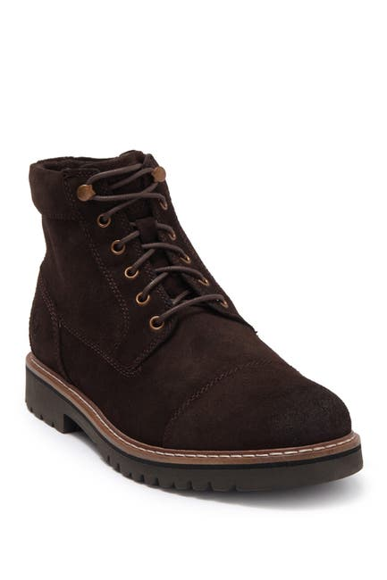 Image of Rockport Marshall Leather Cap Toe Boot - Wide Width Available