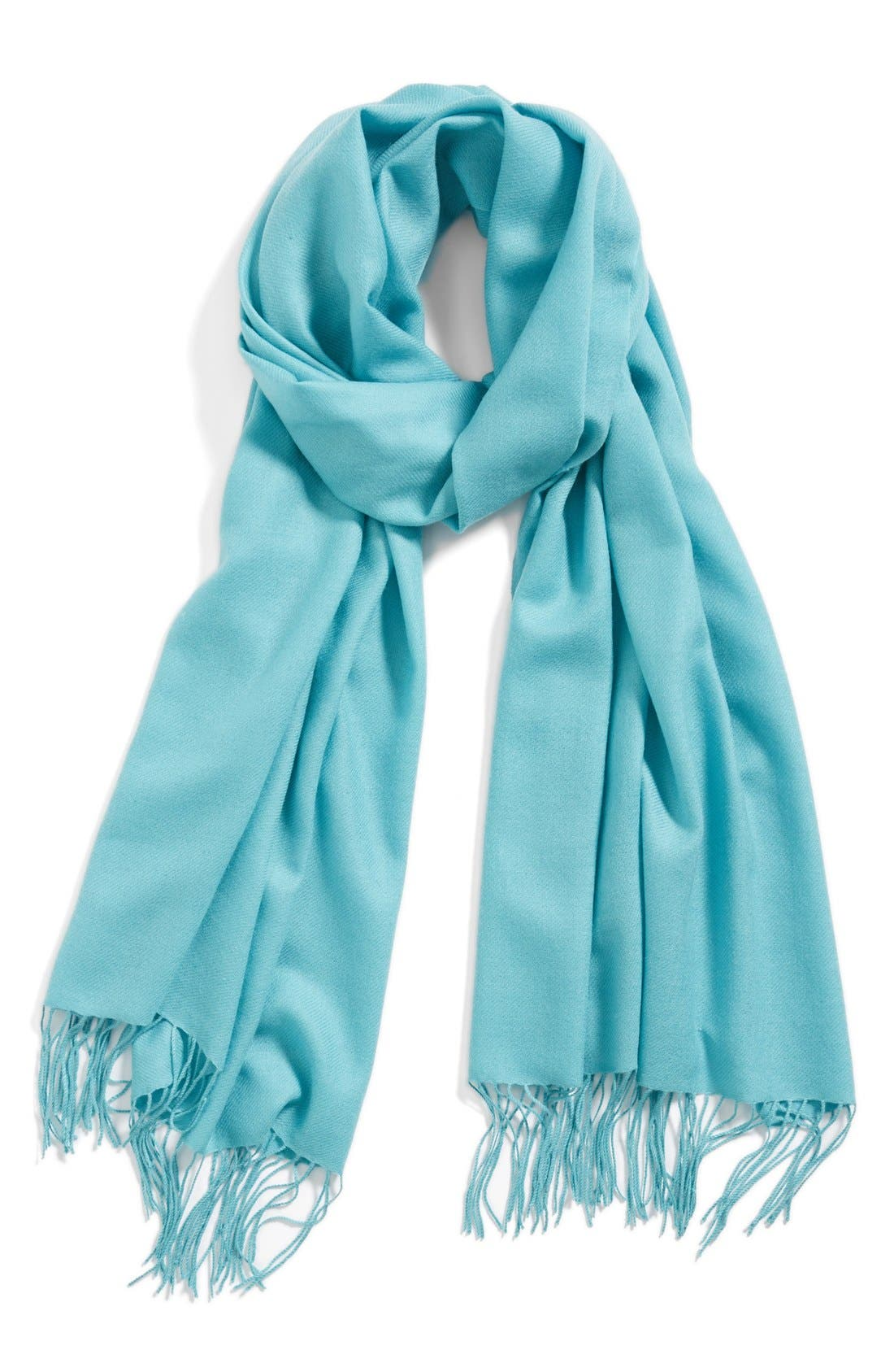 ,                             Tissue Weight Wool & Cashmere Wrap,                             Main thumbnail 78, color,                             406