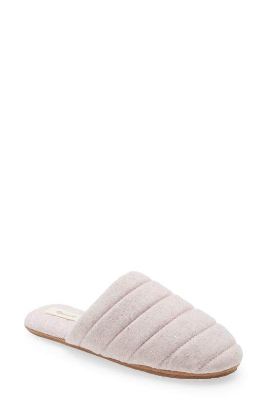 MADEWELL Slippers CHAMBRAY QUILTED SCUFF SLIPPERS