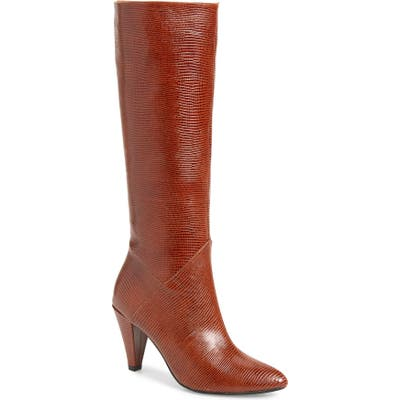 Jeffery Campbell Candle Knee High Boot- Brown