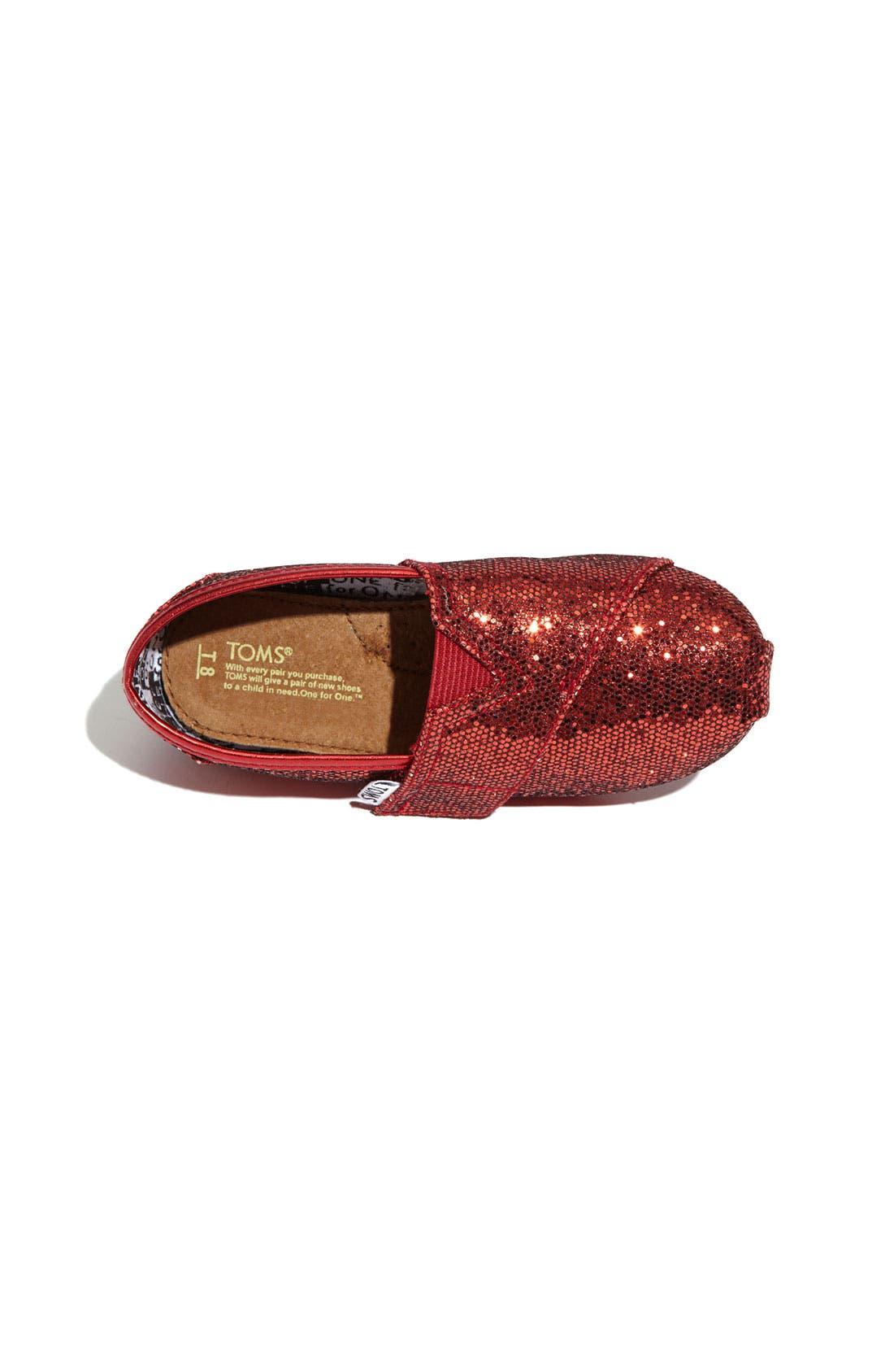 ,                             'Classic Tiny - Glitter' Slip-On,                             Alternate thumbnail 24, color,                             600