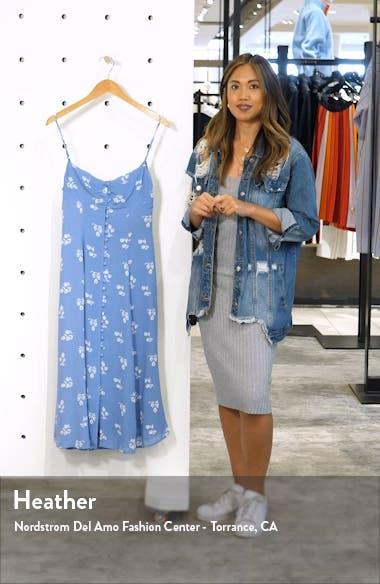 Cybill Button Front Sundress, sales video thumbnail