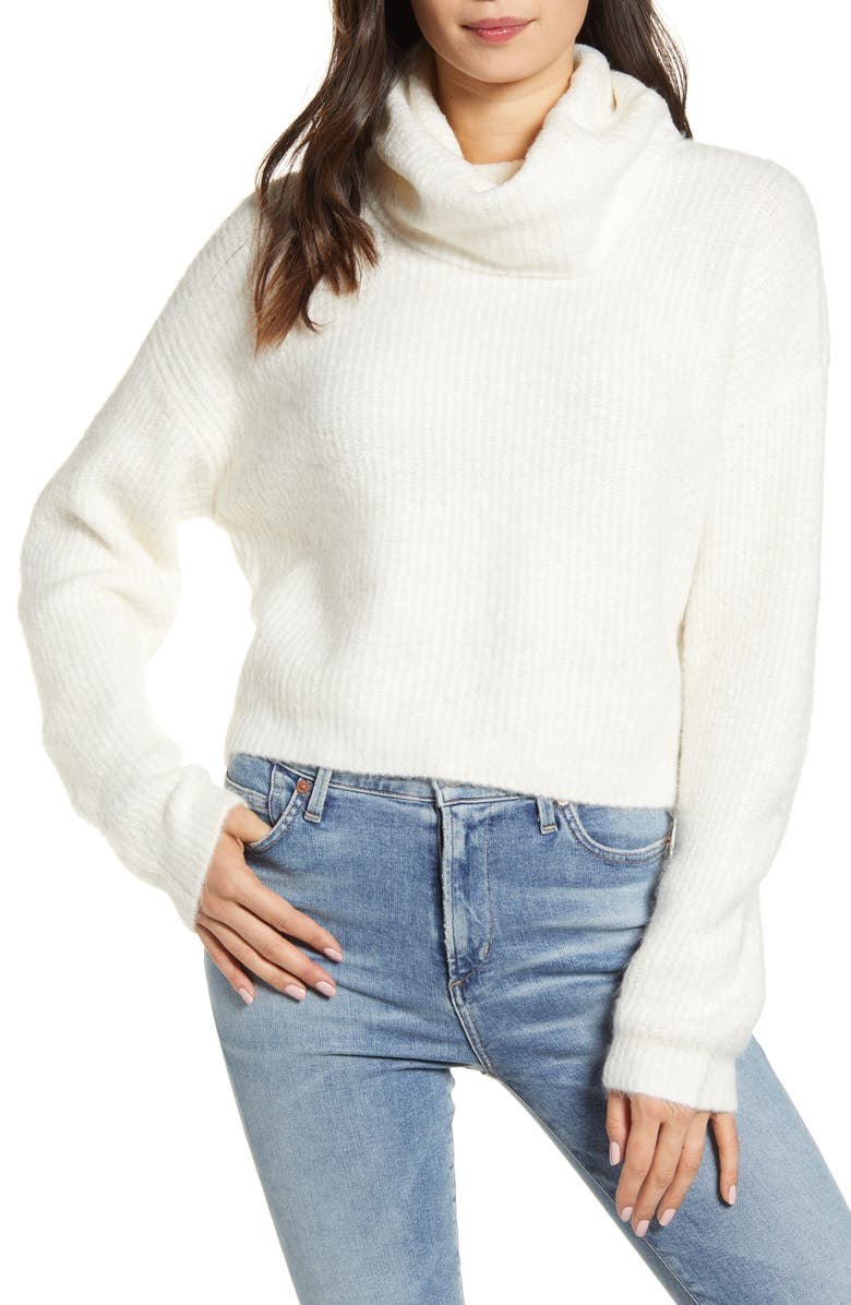 cupcakes and cashmere Joanna Cowl Neck Sweater | Nordstrom