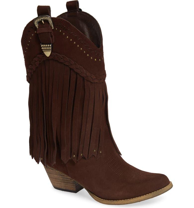 455746fa7f7 Anderson Fringe Western Boot
