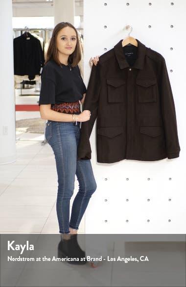 Kadleston Slim Fit Wool Blend Coat, sales video thumbnail