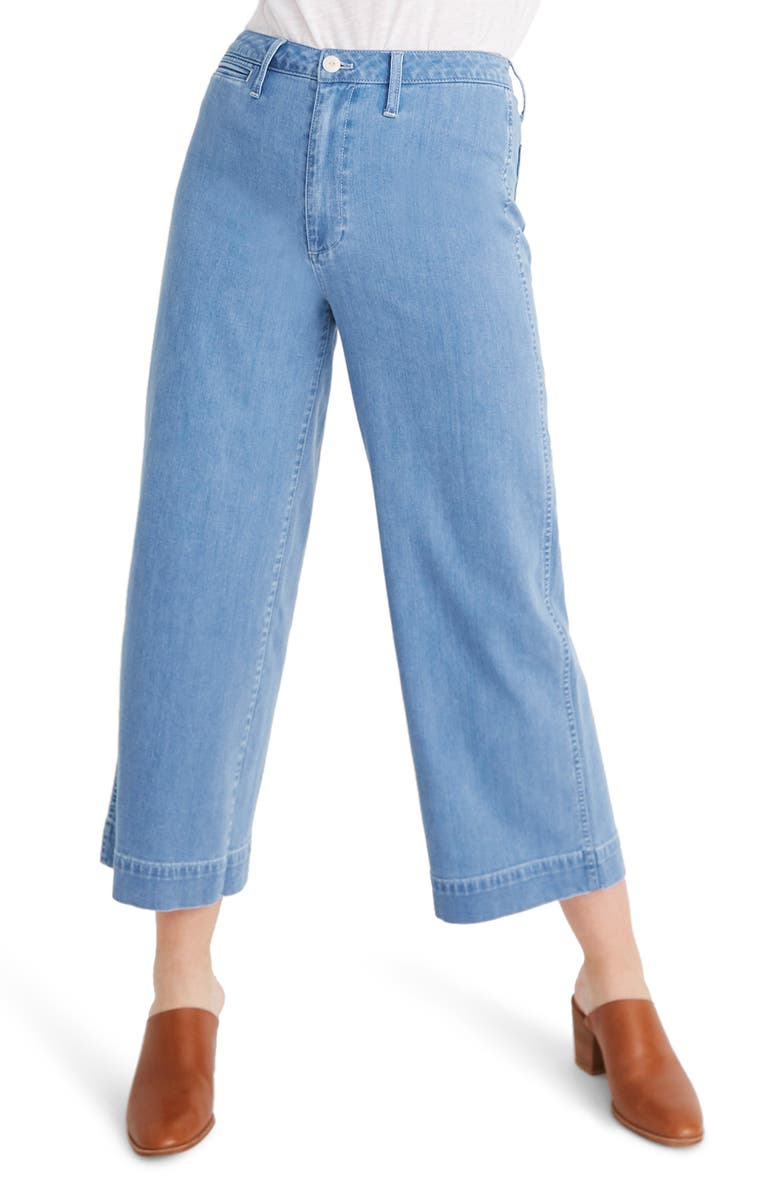 403117f85 Madewell Emmett Crop Wide Leg Jeans (Langston) | Nordstrom