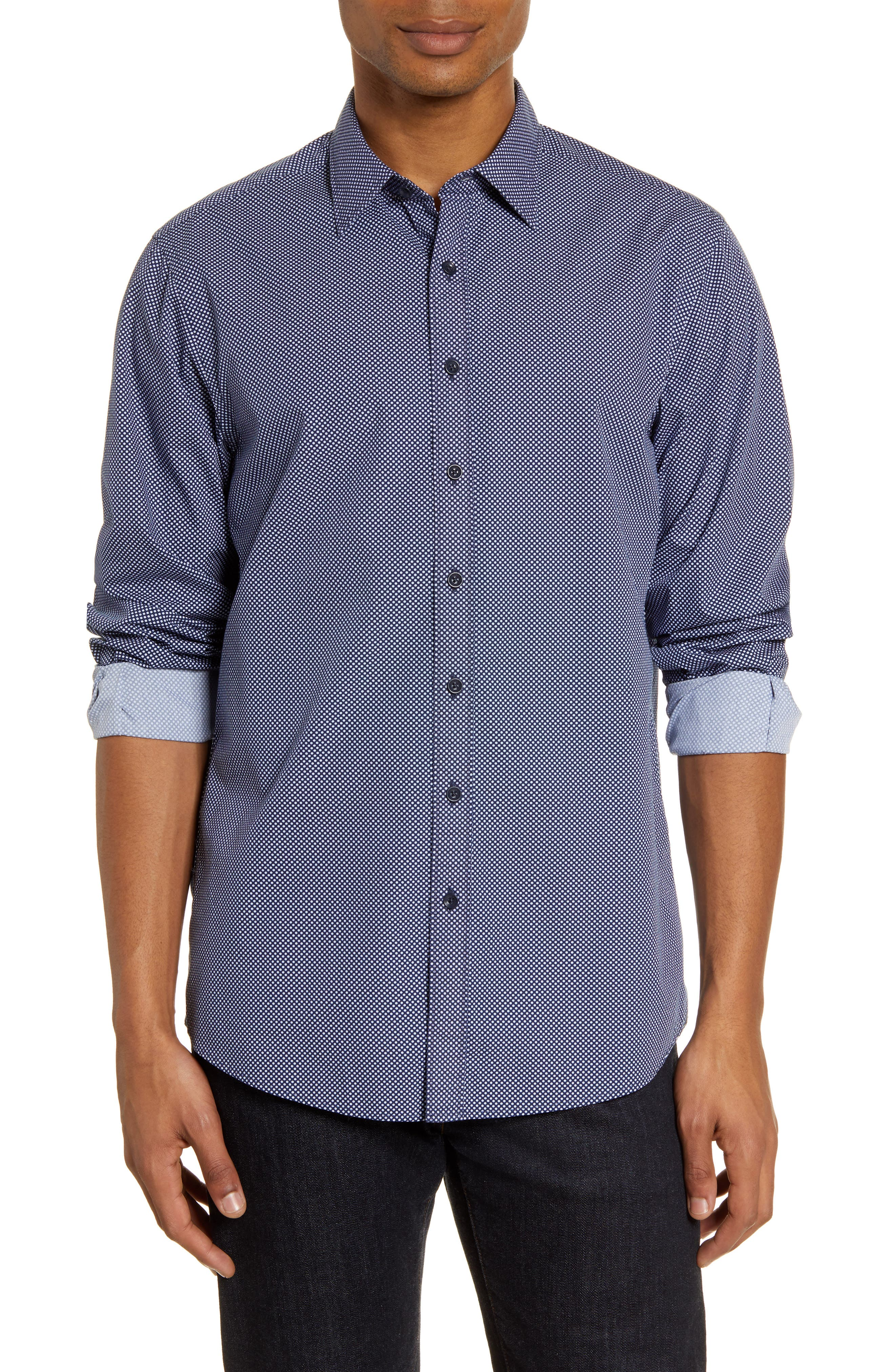 Image of RODD AND GUNN Park Hill Regular Fit Shirt