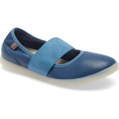 Softinos By Fly London Lynn Flat - Blue/green