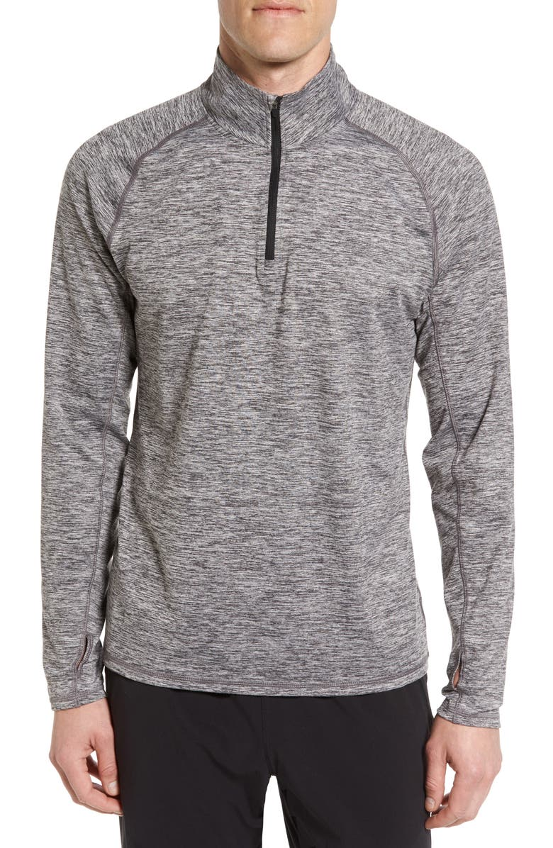 ZELLA Celsian Quarter Zip Pullover, Main, color, 001