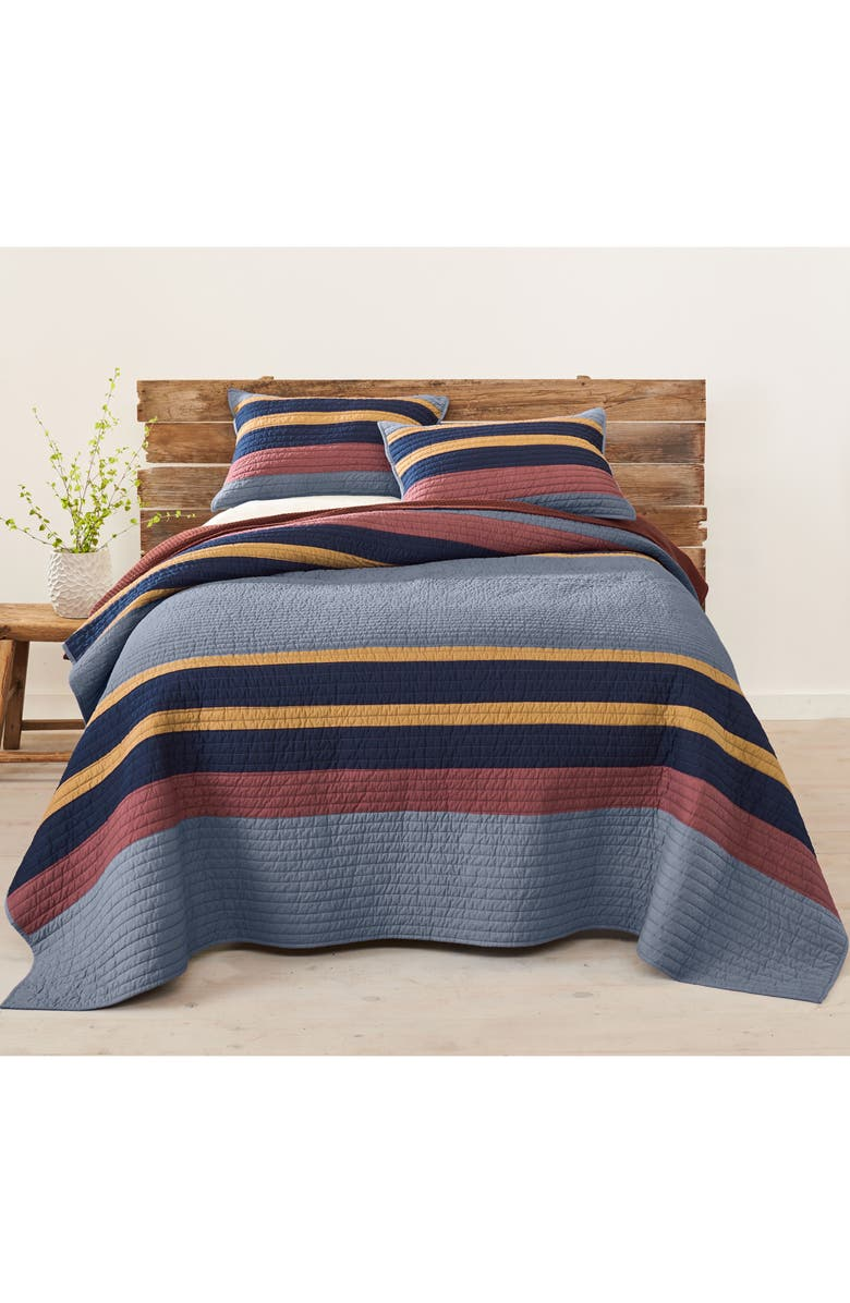 PENDLETON Yakima Camp Quilt & Sham Set, Main, color, LAKE