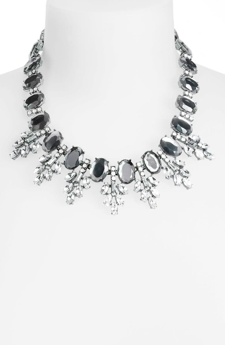 BP. Crystal Frontal Necklace, Main, color, 001