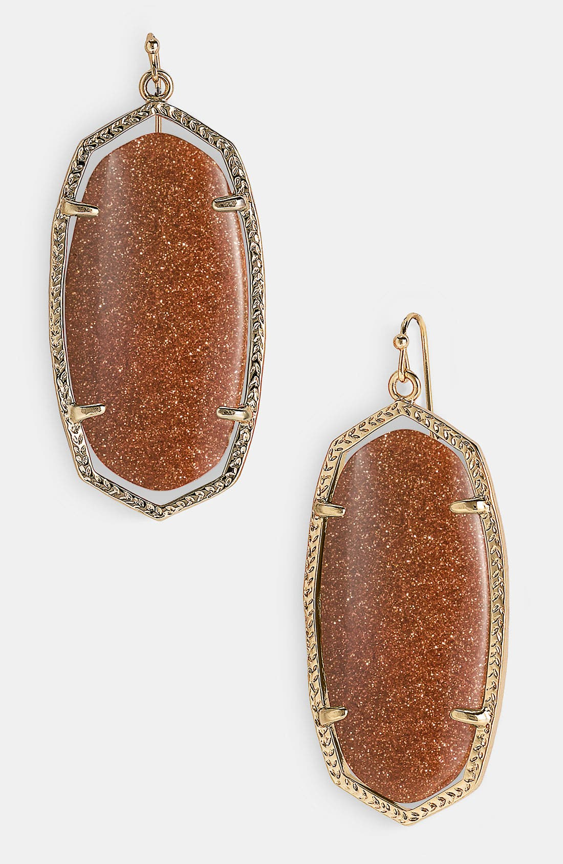 ,                             'Danielle' Oval Statement Earrings,                             Main thumbnail 70, color,                             810