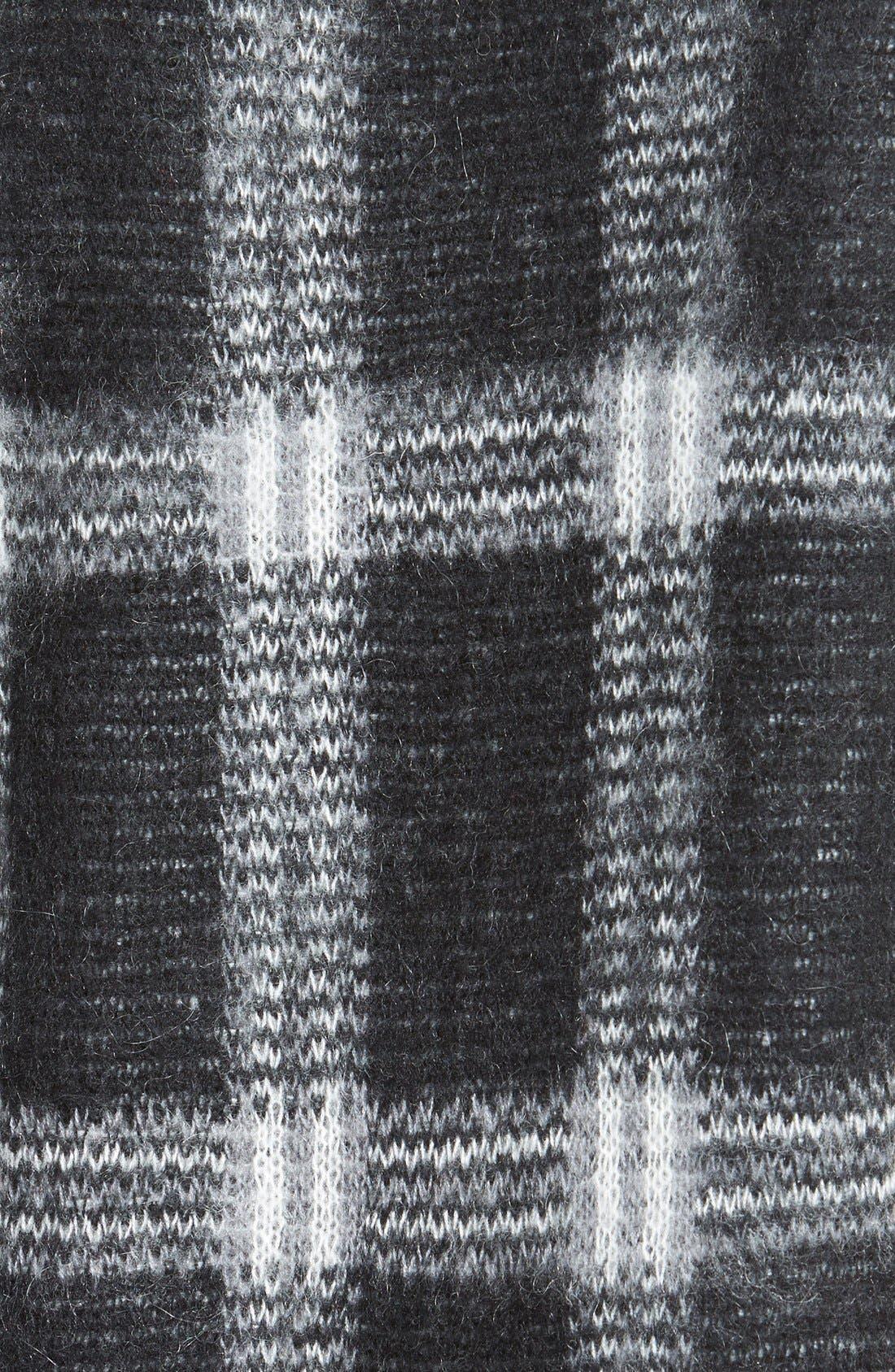,                             Plaid Crewneck Sweater,                             Alternate thumbnail 7, color,                             036
