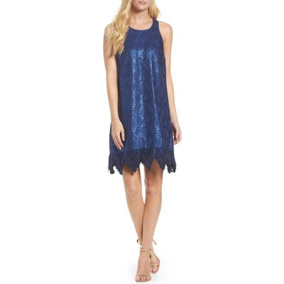 Lilly Pulitzer Marquette Shift Dress, Blue