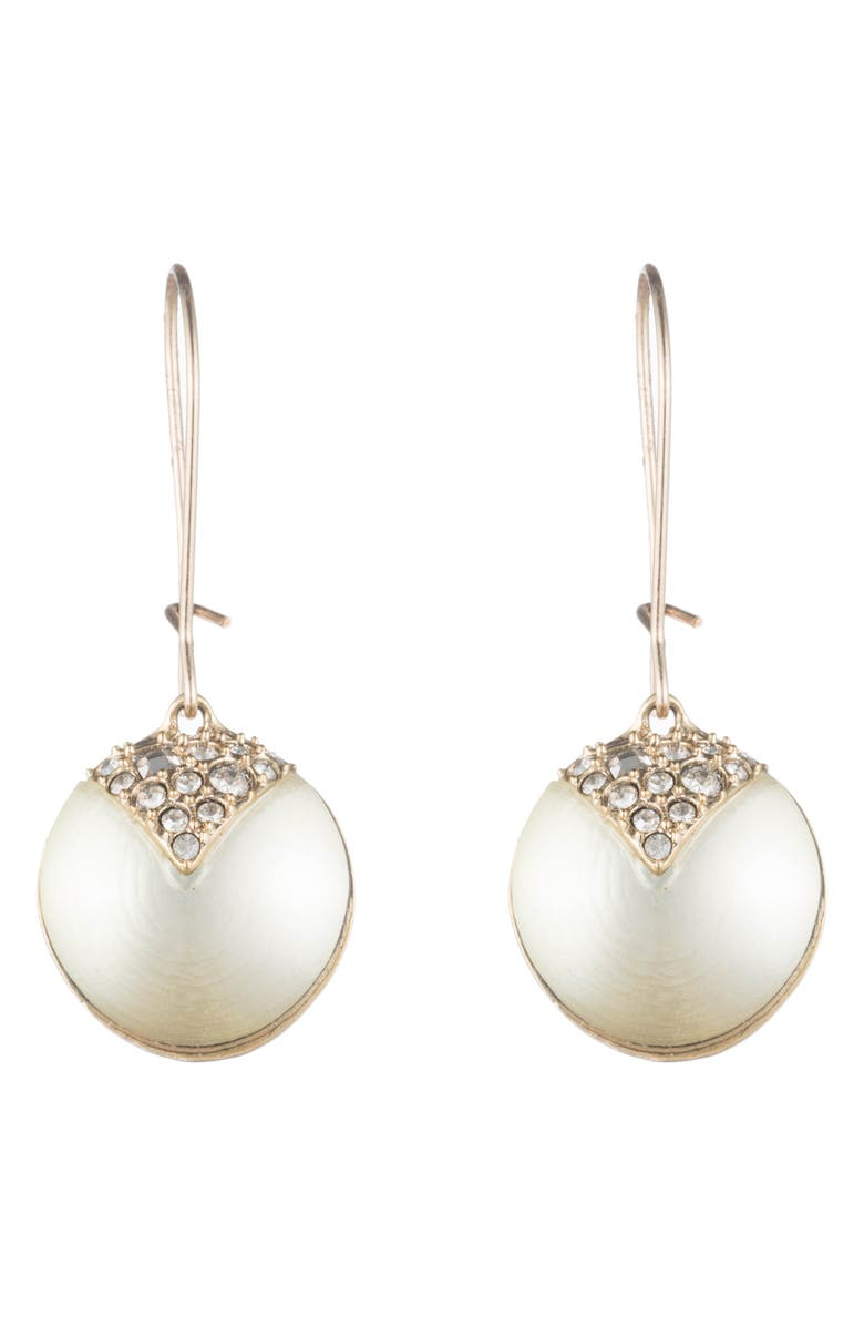 ALEXIS BITTAR Crystal Encrusted Drop Earrings, Main, color, 040