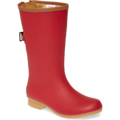 Chooka Bainbridge Rain Boot, Red