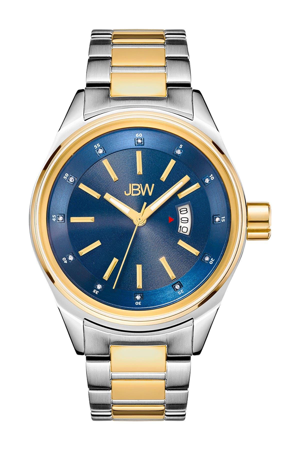 JBW Men's Rook Diamond Watch, 46mm - 0.12 ctw