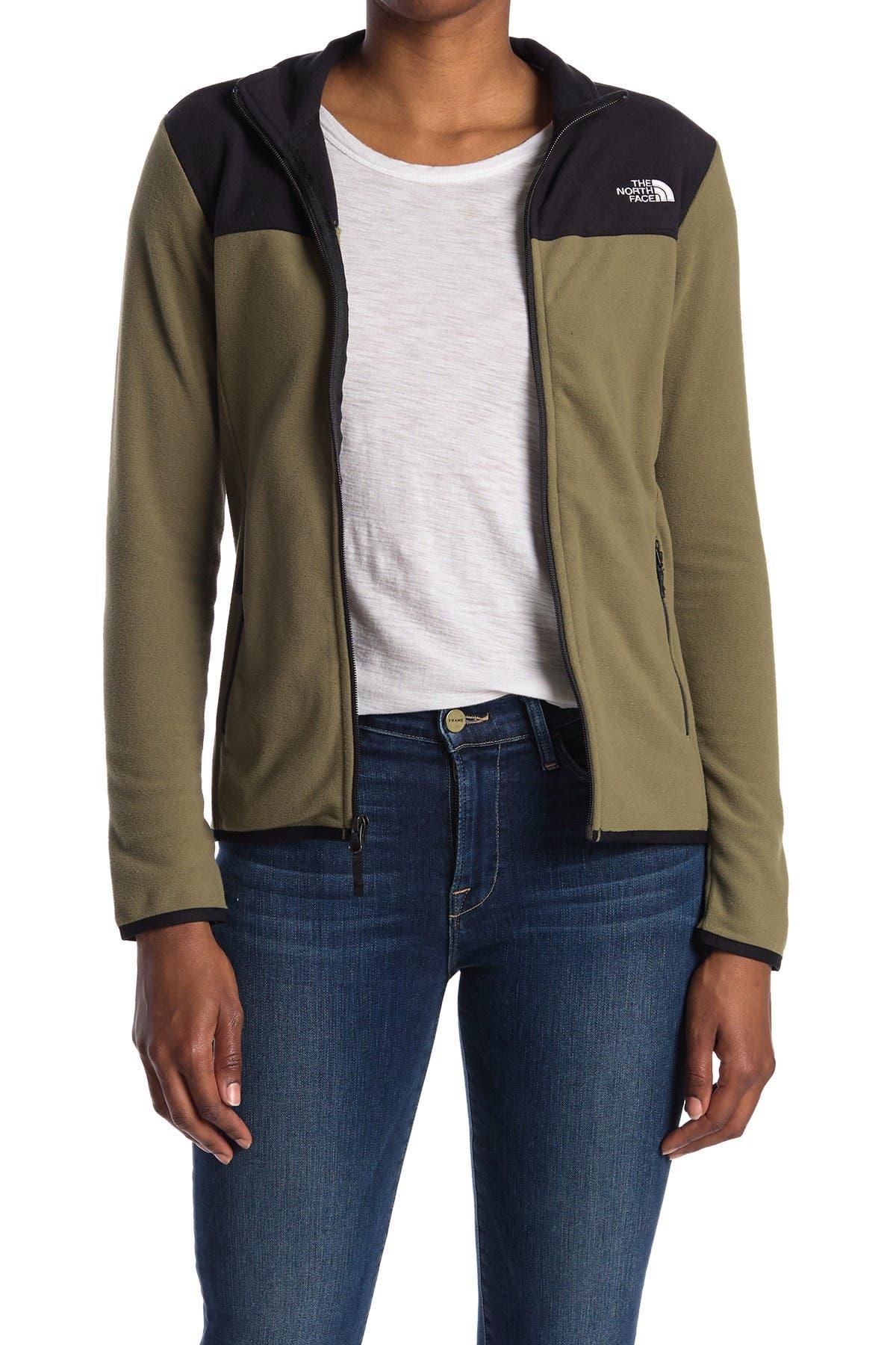 Image of The North Face TKA Glacier Zip Fleece Jacket