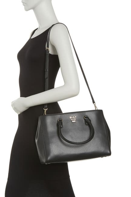 Image of DKNY Whitney Work Leather Tote Bag