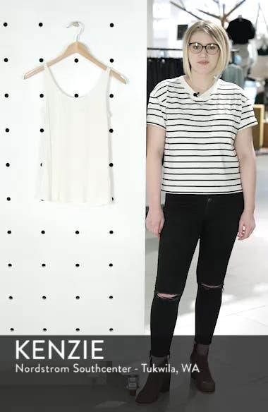 Scoop Neck Silk Camisole, sales video thumbnail
