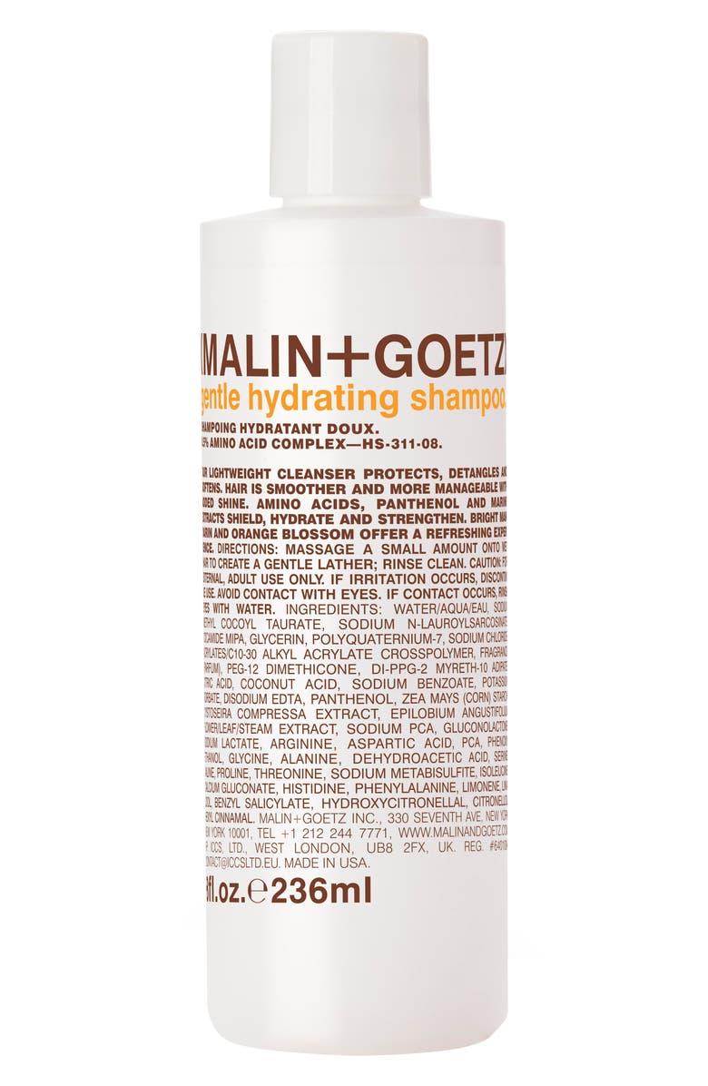 MALIN+GOETZ Gentle Hydrating Shampoo, Main, color, NO COLOR
