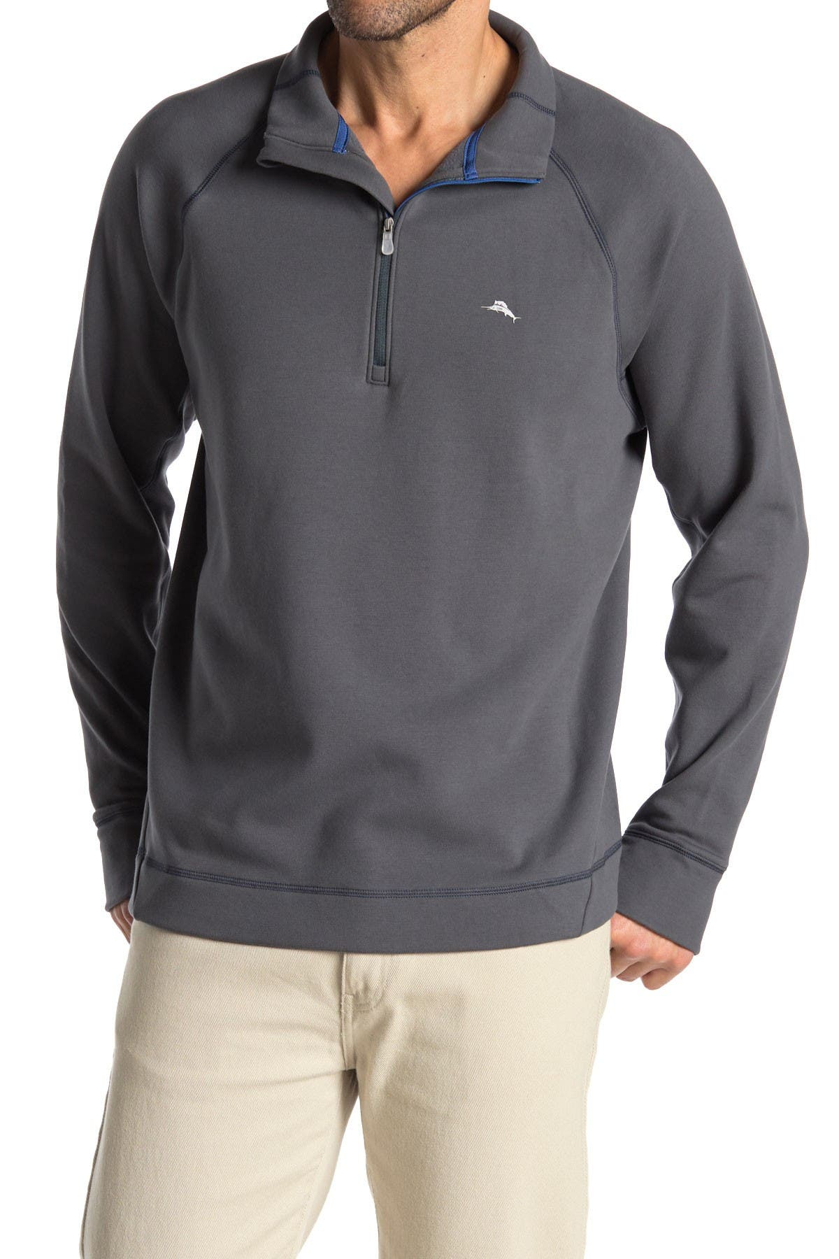 Image of Tommy Bahama Palm Harbor Half Zip Fleece Pullover