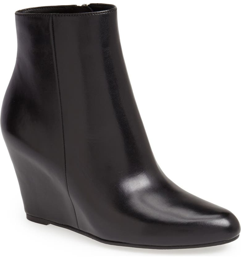 VIA SPIGA 'Abri' Wedge Bootie, Main, color, 001