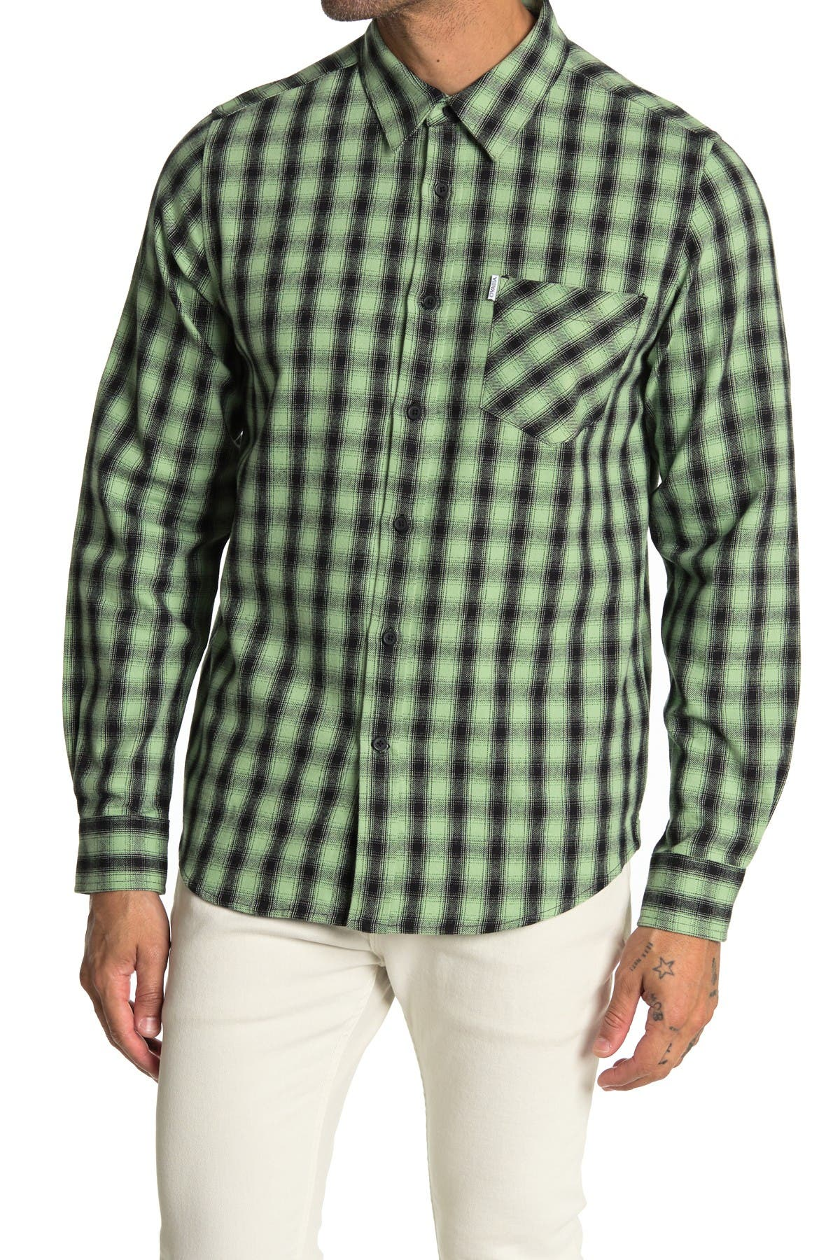 Image of OVADIA AND SONS Max Plaid Regular Fit Shirt