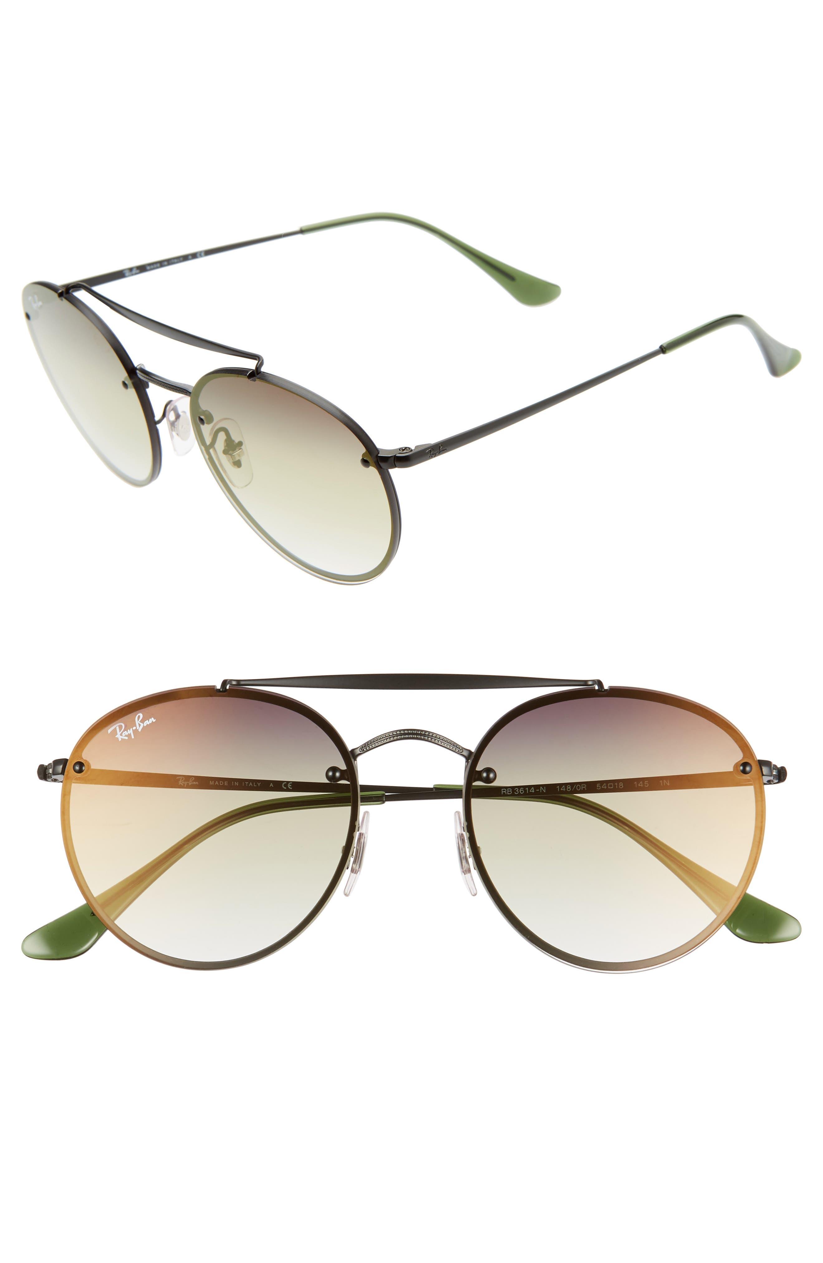 Ray-Ban 5m Polarized Gradient Round Sunglasses -