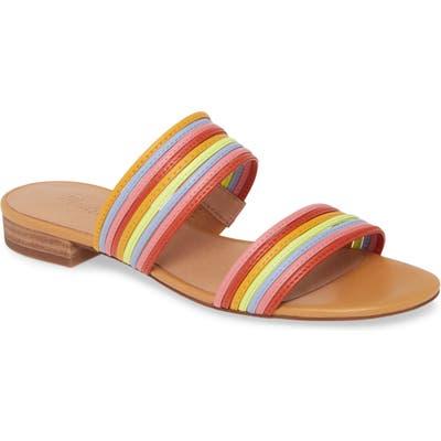Madewell The Meg Slide Sandal- Pink