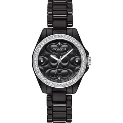 Coach Astor Ceramic Bracelet Watch, 2m