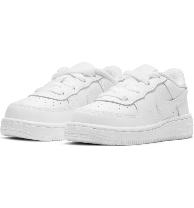 NIKE Air Force 1 Sneaker, Main, color, WHITE/ WHITE