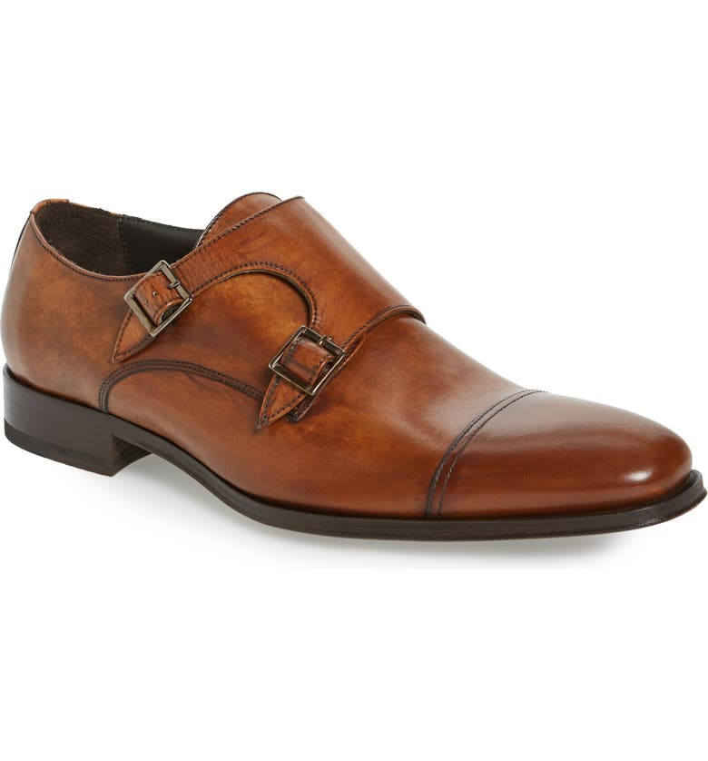 TO BOOT NEW YORK 'Grant' Double Monk Shoe, Main, color, CHESTER