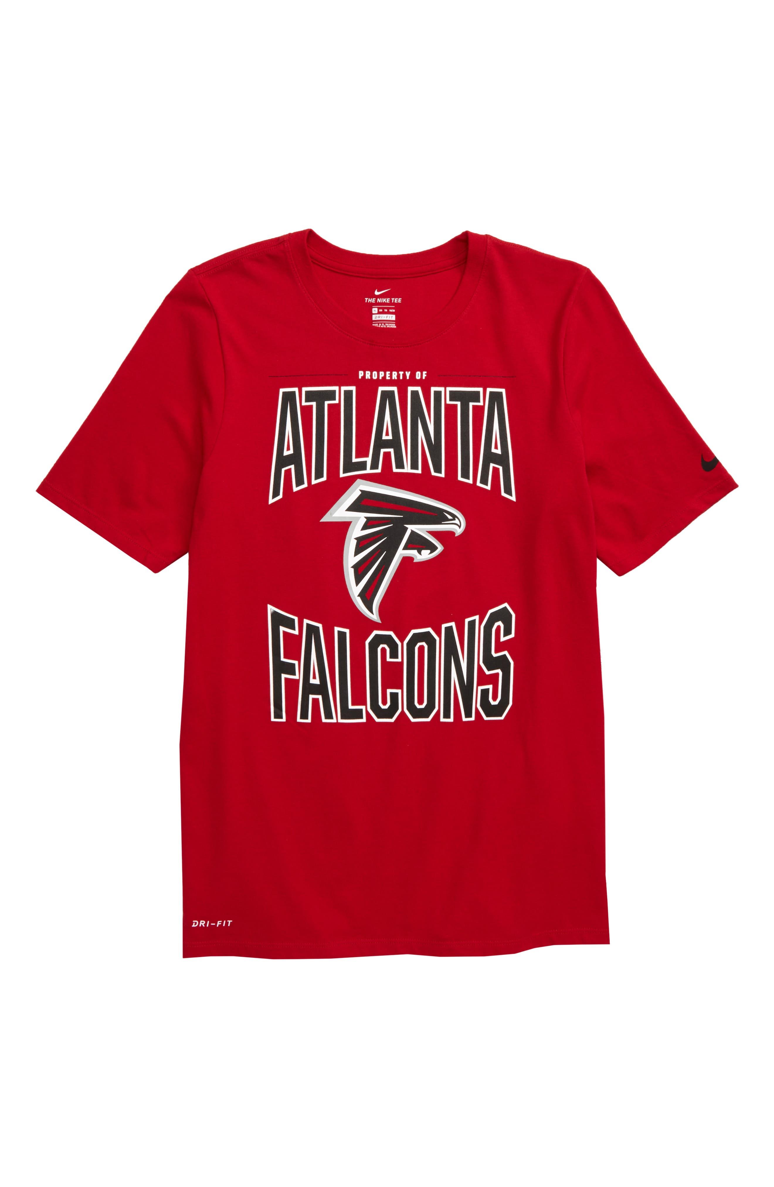 falcons dri fit t shirt