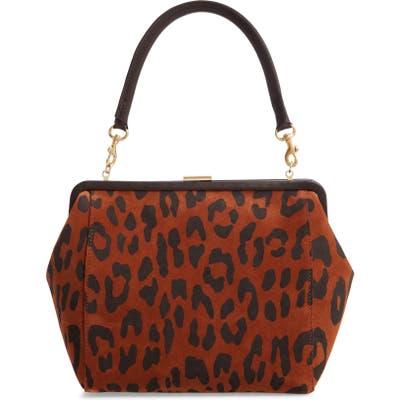 Clare V. Le Big Suede Box Bag - Brown