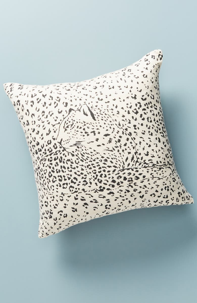 ANTHROPOLOGIE HOME Leopard Accent Pillow, Main, color, 250