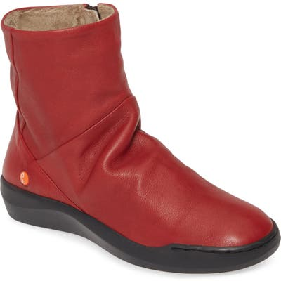 Softinos By Fly London Bler Bootie - Red