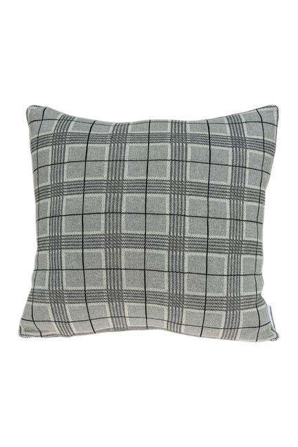 """Image of Parkland Collection Qincy Transitional Pillow - 20"""" x 20"""" - Grey"""