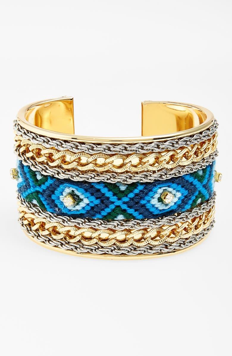 LEITH Woven Cuff Bracelet, Main, color, 440