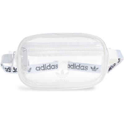 Adidas Originals Clear Belt Bag - White