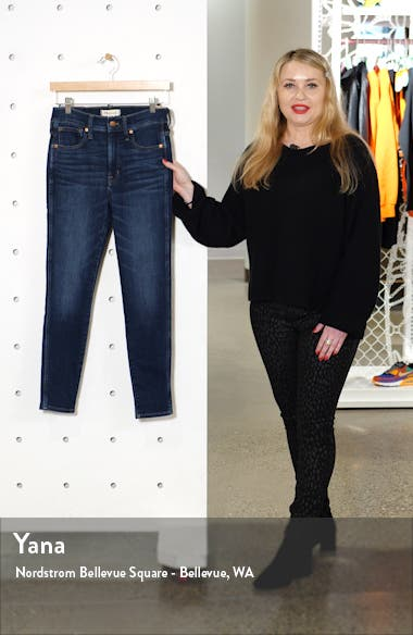 10-Inch High Waist Skinny Jeans: Cashmere Denim Edition, sales video thumbnail