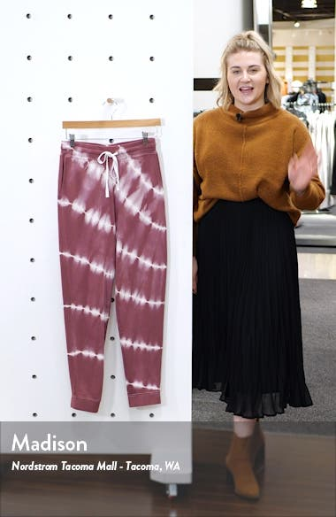 Oakland Tie Dye Jogger Pants, sales video thumbnail