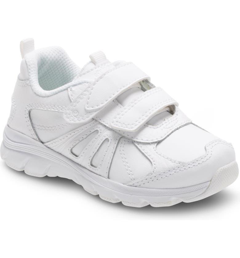 STRIDE RITE Cooper 2.0 Sneaker, Main, color, WHITE